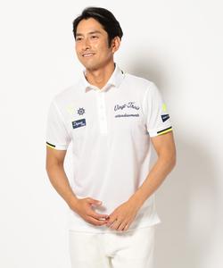 【WEB限定カラー有】【MEN】ハニカムカノコ ポロシャツ
