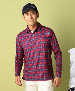【MEN】ネルチェックPT ポロシャツ