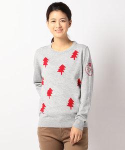 【WEB別注】【WOMEN】クリスマスツリーセーター