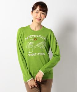 【WOMEN】ポパイ&オリーブ セーター