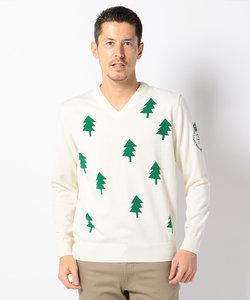 【WEB限定】【MEN】クリスマスツリー セーター