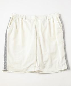 【大きいサイズ・MEN】メモリータフタショート パンツ