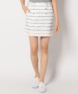 【WOMEN】スラブボーダー スカート