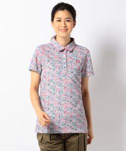 【Regina 2018 SPRING号掲載】【UVケア】リバティプリント ポロシャツ