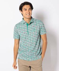 【MEN】【UVケア】リバティープリント ポロシャツ