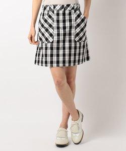 【WOMEN】チェックストレッチ スカート