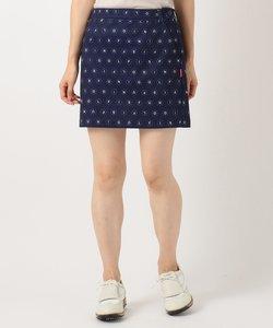 【WOMEN】【ストレッチ】Peストレッチポンチ スカート