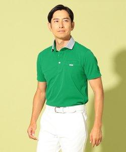 【MEN】【吸水速乾】【UV】メッシュカノコ ポロシャツ