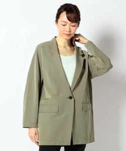 【洗える】Mixed Linen ジャケット