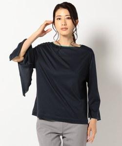 【洗える】Line Trim 長袖カットソー