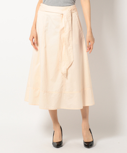 【セットアップ可 / 洗える】Fine Twill スカート