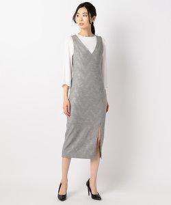 【ICB NY】Jacquard Suiting ドレス