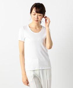 【洗える】Basic Cotton カットソー