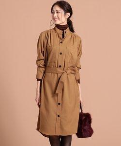 【Domani10月号掲載】Silky Wool シャツドレス
