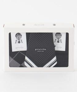 【ギフトに最適】靴下 / ハンカチ BOXセット