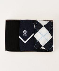 【ギフトに最適】靴下 / タオルハンカチ BOXセット