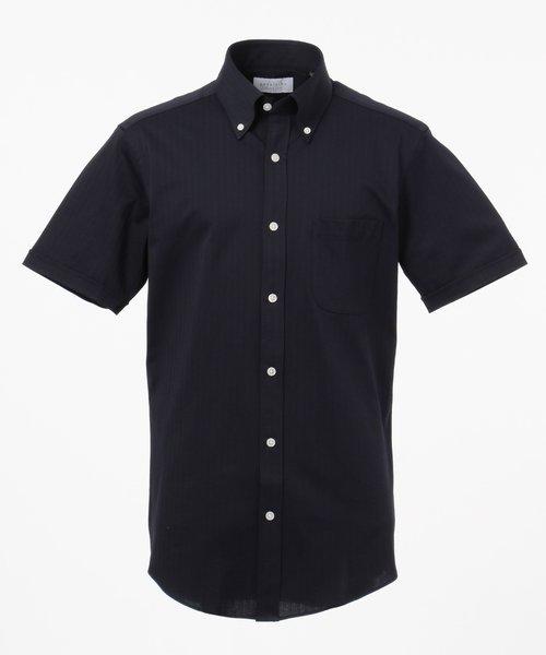 【COOL BIZ / リモートワーク】クールマックス  へリンボン ポロシャツ