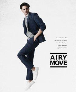 【AIRY MOVE】クールドッツ セットアップ パンツ