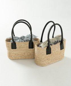 【マガジン掲載】インバッグ付き かごバッグ(検索番号F97)