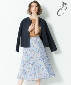 【Class Lounge】BOUQUET PRINT スカート(検索番号Y56)