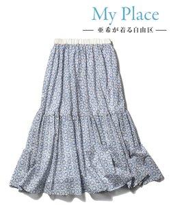 【亜希さん着用】Antoinette Poisson BOTANIQUE スカート(検索番号G23)
