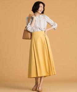 【WEB限定カラー有】タイプライタータックフレアー スカート(検索番号Q63)