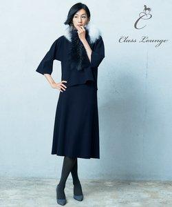 【Class Lounge】STRETCH KNIT フレアースカート(検索番号Y38)