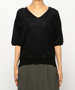 SHORT SLEEVE CTTON KNIT [CREED] ニット