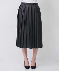 FAUX LEATHER SKIRT [GAURA] スカート