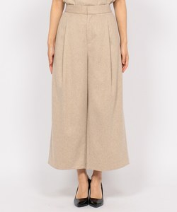 【VERY11月号掲載】WOOL WIDE PANTS [CARNO] パンツ