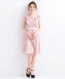 ラッフルフラワー ドレス