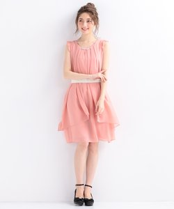 【洗える】3WAYラッフル ドレス