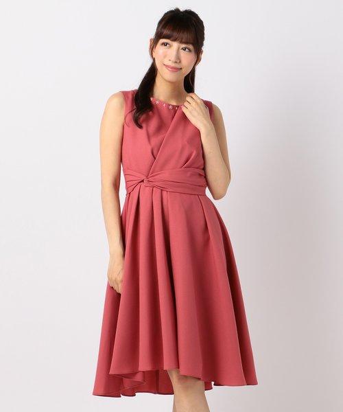 【レングス長め】フェミニンミディ ドレス