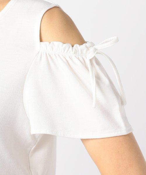 【洗える】Feminineー Tシャツ