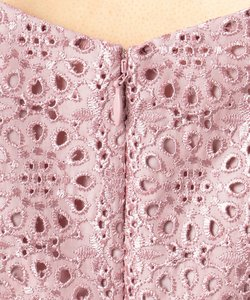 エンブロイダリーフラワー ドレス