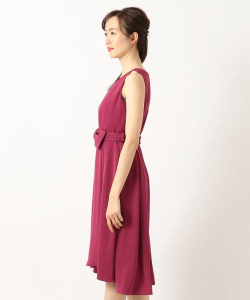【2WAY・洗える】ミディラップ ドレス