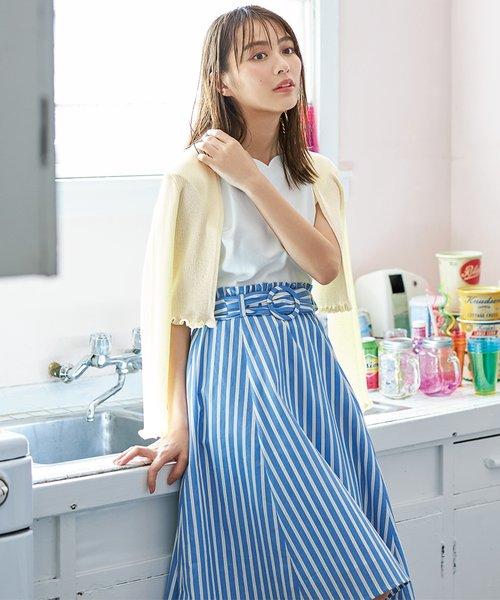 【洗える・2SET】ミニフリルカーデワンピース セット