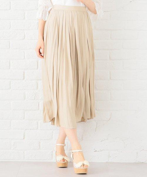 【洗える】ヴィンテージサテン スカート