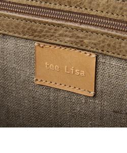 【tee Lisa/ティーリサ】 ボックスショルダーバッグ