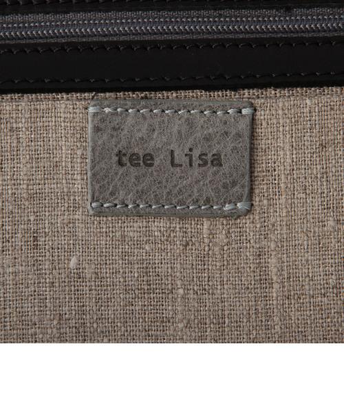 【tee Lisa/ティーリサ】 ダブルプリントトートバッグ