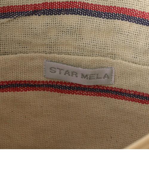 【STAR MELA/スターメラ】 フリンジバードクラッチバッグ