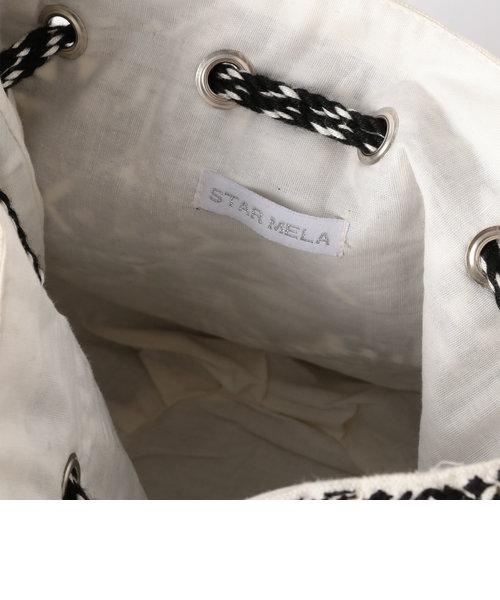 【STAR MELA/スターメラ】 巾着ショルダーバッグ