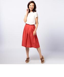 綿シルクローンスカート