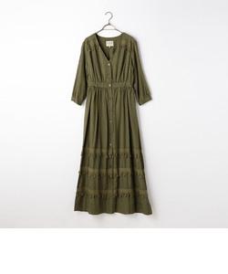 S 【Sea New York/シー ニューヨーク】 Button Down Tassel Dress (RS16-118)