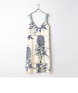 S 【Sea New York/シー ニューヨーク】 Denim&Pineapple Dress (SS16-97)