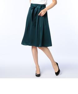 ピーチサテンリボン付スカート