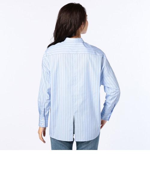 バックスリットレギュラーカラーシャツ