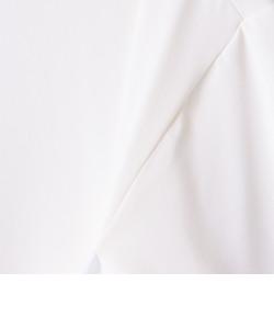 【MM6 Maison Margiela/エムエム 6 メゾン マルジェラ】 ストレッチジャージショートカットソー