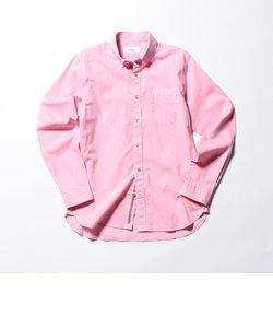 綿麻パラシュートボタンダウンシャツ