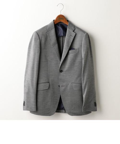 ラミーカノコ編みジャージジャケット